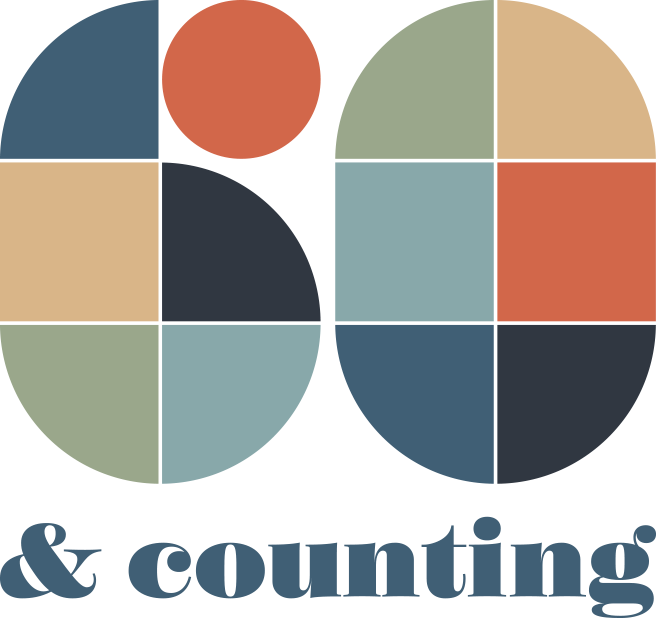 60 years and counting logo