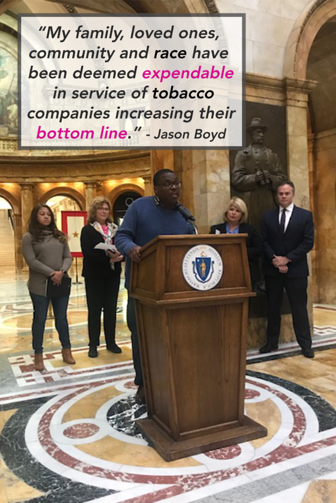 Fight all flavors at the Massachusetts State House